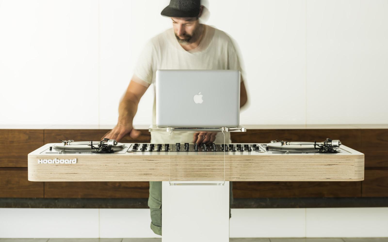 Hoerboard Pro Audio Amp Dj Furniture The Customized Dj